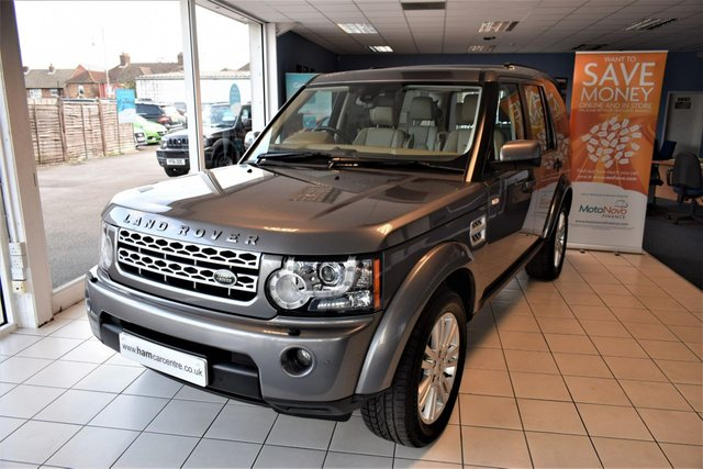 2011 11 LAND ROVER DISCOVERY 4 3.0 4 TDV6 HSE 5d AUTO 245 BHP