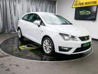 USED 2012 62 SEAT IBIZA 2.0 CR TDI FR 3d 141 BHP £0 DEPOSIT FINANCE AVAILABLE, AIR CONDITIONING, AUX INPUT, CD/MP3/RADIO, CLOTH UPHOLSTERY, CRUISE CONTROL, LED TAIL LIGHTS, STEERING WHEEL CONTROLS, TRIP COMPUTER