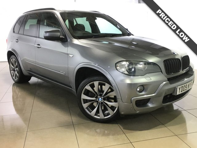 View our 2009 09 BMW X5 3.0 SD M SPORT 5d 282 BHP