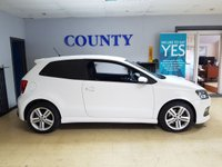USED 2012 12 VOLKSWAGEN POLO 1.2 R LINE TSI 3d 104 BHP * SERVICE HISTORY * 12 MONTHS MOT *