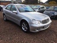2005 MERCEDES-BENZ C CLASS 2.1 C200 CDI AVANTGARDE SE 4d AUTO 121 BHP £2999.00