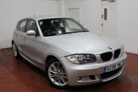 2008 BMW 1 SERIES 2.0 118I M SPORT 5d 141 BHP £5995.00