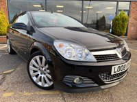2008 VAUXHALL ASTRA 1.8 TWIN TOP DESIGN 3d 140 BHP £2495.00