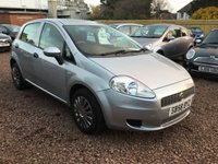USED 2008 58 FIAT GRANDE PUNTO 1.4 ACTIVE 8V 5d 77 BHP AUTOMATIC WITH FULL  SERVICE HISTORY