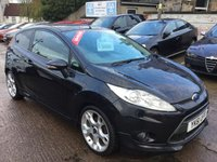 USED 2011 61 FORD FIESTA 1.6 ZETEC S 3d 118 BHP FANTASTIC LOW MILEAGE EXAMPLE NOW AVAILABLE AT OUR TRANENT BRANCH
