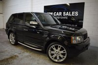 USED 2005 55 LAND ROVER RANGE ROVER SPORT 4.2 V8 S/C 5d AUTO 385 BHP