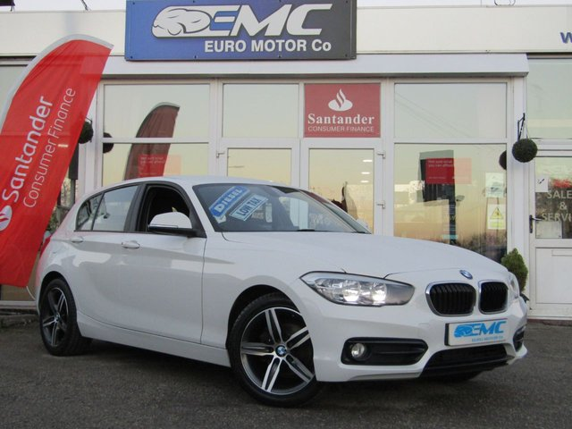 2015 65 BMW 1 SERIES 1.5 116D SPORT 5d 114 BHP