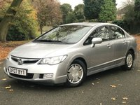 2007 HONDA CIVIC 1.3 IMA ES HYBRID 4d AUTO 115 BHP £2480.00