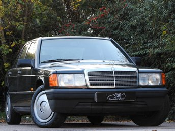 1987 MERCEDES-BENZ 190 2.0 E 4d 122 BHP £6995.00