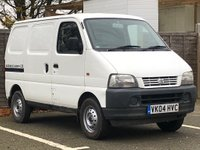 2004 SUZUKI CARRY 1.3 SWB 1d  £3499.00