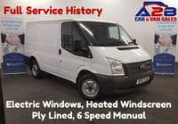 USED 2013 13 FORD TRANSIT 2.2 100BHP T260 SWB Panel Van with 6 Speed Gearbox, Electric Windows and Heated Windscreen **Drive Away Today** Over The Phone Low Rate Finance Available, Just Call us on 01709 866668**