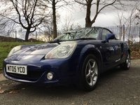 USED 2005 05 TOYOTA MR2 1.8 ROADSTER 2d 138BHP NEW GEARBOX AND CLUTCH+SPOILER