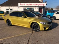 2016 BMW M3 3.0 4 door Automatic DCT 426 BHP - only 13,000 miles £36999.00