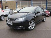 2013 SEAT IBIZA 1.4 TOCA 3d 85 BHP £SOLD