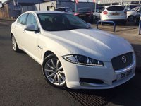 USED 2012 JAGUAR XF 2.2 D LUXURY 4d AUTO 163 BHP LEATHER + SAT NAV + ALLOYS + CRUISE CONTROL+ CLIMATE CONTROL