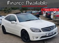 USED 2010 60 MERCEDES-BENZ CLC CLASS 1.8 CLC200 KOMPRESSOR SPORT 3d 184 BHP FULL SERVICE HISTORY+MOT 9/19+SAT NAV+TINTED REAR WINDOWS+LEATHER INTERIOR