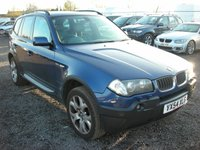 USED 2004 54 BMW X3 3.0 SPORT 5d AUTO 228 BHP Sat nav - Panoramic roof - Leather - Xenons