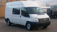 2013 FORD TRANSIT 350 LWB 9 SEATER CREW VAN £300 CASH BACK IN DECEMBER!!! 1 OWNER X MOD F/S/H 2 KEYS FREE 12 MONTHS WARRANTY COVER £5990.00
