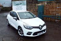 USED 2015 15 RENAULT CLIO 1.5 DYNAMIQUE MEDIANAV ENERGY DCI S/S 5d 90 BHP One Owner With SAT NAV