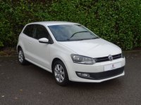 USED 2014 14 VOLKSWAGEN POLO 1.4 MATCH EDITION 3d 83 BHP Full Main Dealer Service History, Low Mileage, Rear Parking Sensors, Privacy Glass, Air Conditioning, Excellent First Car, Alloy Wheels, Front + Rear Fog Lights, Spare Key, Ready To Drive Away In Under 1 Hour