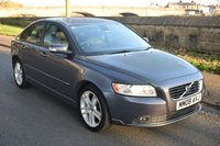 USED 2008 08 VOLVO S40 1.8 SE 4d 125 BHP SERVICE HISTORY, LEATHER SEATS, MANUAL GEARBOX, RADIO CD PLAYER, ALLOY WHEELS