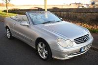 2004 MERCEDES-BENZ CLK 3.2 CLK320 AVANTGARDE 2d AUTO 218 BHP £3999.00