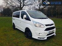 "2014 FORD TOURNEO CUSTOM 2.2 300 TDCI **NO VAT** 5d 8 SEATS RS STYLING KIT 20"" ALLOY WHEELS £16495.00"