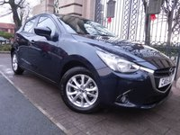 USED 2015 15 MAZDA 2 1.5 SE-L NAV 5d AUTO 89 BHP FINANCE ARRANGED***PART EXCHANGE WELCOME***1 OWNER***£30 ROAD TAX***FULL MAZDA SH***SAT NAV***BLUETOOTH***A/C