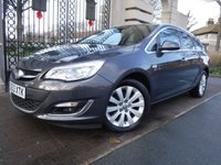USED 2013 13 VAUXHALL ASTRA 2.0 SE CDTI 5d AUTO 162 BHP FINANCE ARRANGED***PART EXCHANGE WELCOME***1 OWNER***PART LEATHER***CRUISE CONTROL***AIR CON***AUX***CD PLAYER
