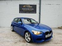 2013 BMW 1 SERIES 2.0 116D M SPORT 5d 114 BHP £7995.00