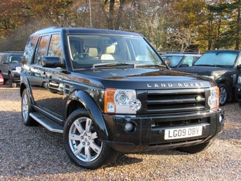 2009 LAND ROVER DISCOVERY 2.7 3 TDV6 HSE 5d AUTO 188 BHP £11990.00