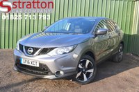 USED 2016 16 NISSAN QASHQAI 1.5 N-CONNECTA DCI 5d 108 BHP High Quality hand picked cars by Stratton Car Company Uckfield Sussex - 01825 713 793