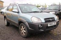 2005 HYUNDAI TUCSON 2.0 CDX CRTD 4WD 5d 111 BHP £1350.00