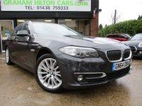 2014 BMW 5 SERIES 2.0 520D LUXURY TOURING 5d AUTO 188 BHP £16500.00