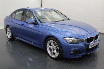 2015 BMW 3 SERIES 2.0 320D M SPORT SALOON £15499.00