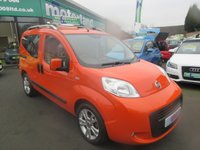 USED 2012 12 FIAT QUBO 1.2 MULTIJET MYLIFE 5d 75 BHP ***JUST ARRIVED...TEST DRIVE TODAY***NO DEPOSIT DEALS