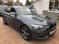 2013 BMW 1 SERIES 1.6 116I SPORT 5d 135 BHP £9995.00