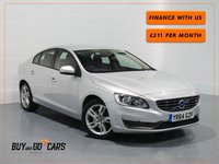 2014 VOLVO S60 2.0 D4 BUSINESS EDITION 4d 181 BHP £10482.00
