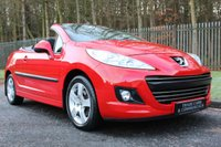 USED 2010 10 PEUGEOT 207 1.6 CC GT SPORT 2d 108 BHP A LOVELY LOW MILEAGE CAR WITH A FULL PEUGEOT DEALER HISTORY!!!