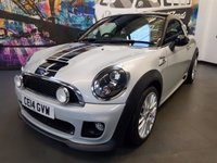 2014 MINI COUPE 1.6 COOPER S 2d 181 BHP £9994.00