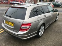 USED 2008 08 MERCEDES-BENZ C CLASS 2.1 C220 CDI SPORT 5d AUTO 168 BHP SALE PRICE NOW ONLY £5995.00
