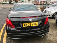 USED 2008 08 PEUGEOT 207 1.6 GT COUPE CABRIOLET HDI 2d 108 BHP