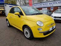 USED 2011 11 FIAT 500 1.2 C LOUNGE 3d 69 BHP 0%  FINANCE AVAILABLE ON THIS CAR PLEASE CALL 01204 317705