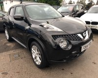 2014 NISSAN JUKE 1.6 ACENTA PREMIUM XTRONIC 5d AUTO 117 BHP £10299.00