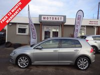 USED 2013 63 VOLKSWAGEN GOLF 2.0 GT TDI BLUEMOTION TECHNOLOGY 5DR  DIESEL 150 BHP+++£20 ROAD TAX+++ FREE 12 MONTH WARRANTY UPGRADE