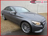 "USED 2015 15 MERCEDES-BENZ C CLASS 2.1 C220 BLUETEC SE EXECUTIVE 4dr 170 BHP **STYLING PACK & SAT NAVIGATION** **19""ALLOYS, P/GLASS, AMG DIAMOND GRILLE & REAR SPOILER**"