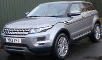 USED 2012 12 LAND ROVER RANGE ROVER EVOQUE 2.2 SD4 PRESTIGE AWD 5d 190 BHP **1Owner,PanRoof,HeatedLeather,Nav,Xenons,Camera**
