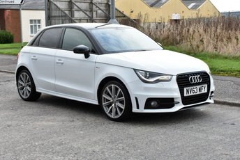 2013 AUDI A1 1.6 SPORTBACK TDI S LINE STYLE EDITION 5d 103 BHP £10990.00