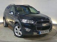 2011 CHEVROLET CAPTIVA 2.2 LTZ VCDI 5d AUTO 184 BHP £8495.00