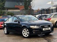 2010 AUDI A4 2.0 TDI SE 4d 141 BHP £6444.00